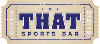 "The ""That Sports Bar"" company logo"